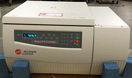 Beckman Allegra X-14 Table Top Centrifuge with SX4750A Rotor