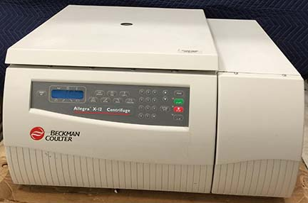 Beckman Allegra X-12 Table Top Centrifuge with SX4750 Rotor