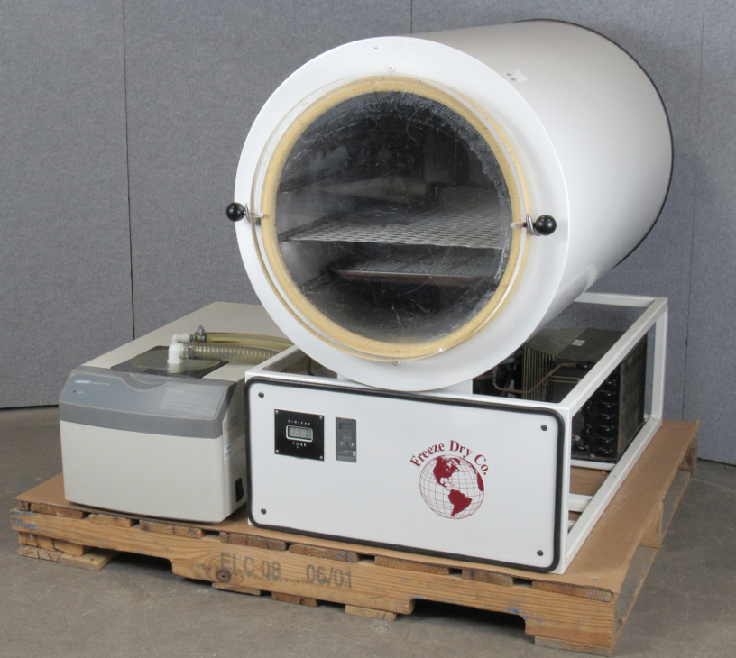 Freeze Dry Co  2000 Freeze Dryer with Cold Trap with Vacuum Pump