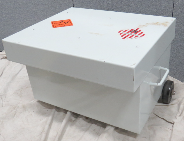 Portable Explosion Containment Safety Chest