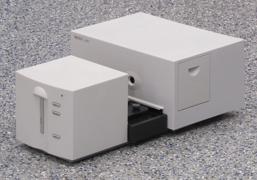 HP G1103A 8453 UV/Vis Spectrophotometer with PC with Software